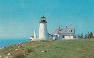 The Lighthouse at PEMAQUID POINT , Maine , 1950-60s