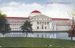 Field Columbian Museum Chicago IL Illinois V.O. Hammon Vintage Postcard D5
