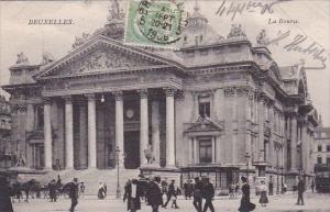Belgium Brussel Bruxelles La Bourse 1906