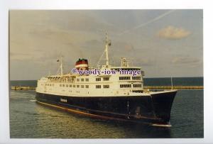 SIM0046 - Danish Ferry - Danmark , built 1968 - postcard
