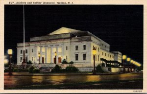 New Jersey Trenton Soldiers and Sailors Memorial 1943 Curteich
