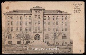 Austin Texas - Woman's Building - University of Texas