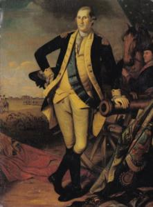George Washington At Princeton by Charles Wilson Peale 1780