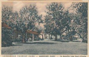 SANDPOINT , Idaho , 1930-40s ; Lakeshore Tourist Park