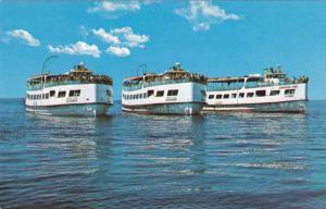Arnold Line Cruise Ships - Mackinac Island MI, Michigan