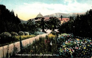 California Altadena Private Residence and Grounds