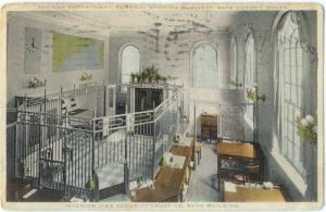 W/B Interior View of Security Trust Co. Building Location??