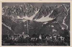 Hungerburg Mit Nordkettenbahn, Hotel Mariabrunn, INNSBRUCK (Tirol), Austria, ...