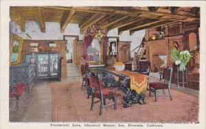 California Riverside Presidential Suite Glenwood Mission Inn