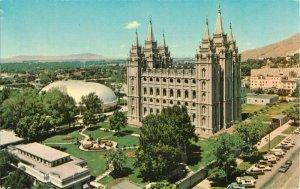 Postcard Temple Square, Salt Lake City, UT