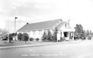Peqout Lakes Minnesota Lake Theatre Real Photo Antique Postcard K58578