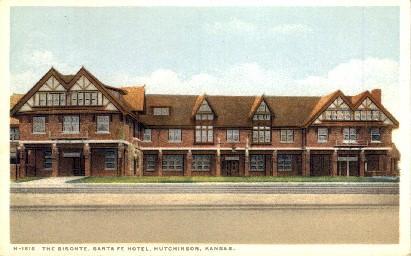 The Bisonte Santa Fe Hotel Hutchinson Ks Unused