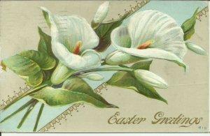 Easter Greetings 610    Embossed