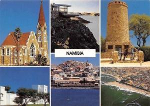 Namibia German Lutheran Church, Hardap Dam Restaurant Eglise Panorama