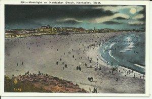 Nantasket, Mass., Moonlight on Nantasket Beach