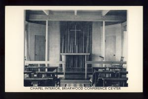 Monument Beach, Mass/MA Postcard, Briarwood Conference Center, Chapel Interior