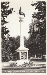 RP: SALT LAKE CITY , Utah , 30-40s ; SEagull Monument