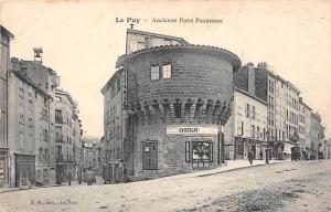France Le Puy Ancienne Porte Pannessac Chocolat