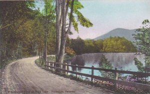 Vermont Plymouth Presidential Drive At Echo Lake Albertype