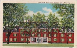 Anna Smith Hall Berea College Berea Kentucky