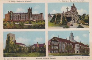WINDSOR, Ontario, Canada, 1900-1910's; Assumption College, St. Mary's Memorial