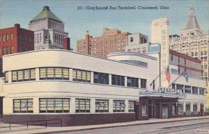 Ohio Cincinnati Greyhound Bus Terminal