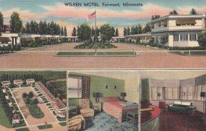 Fairmont , Minnesota , 1930-40s ; Wilken Motel