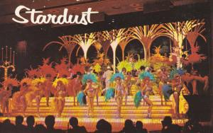 Nevada Las Vegas Showtime At The Stardust Hotel
