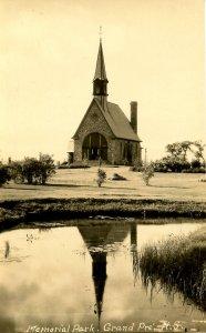 Canada - Nova Scotia, Grand Pre. Acadian Museum,Memorial Park*RPPC