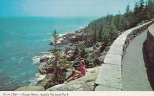 Otter Cliff Ocean Drive Acadia National Park Maine