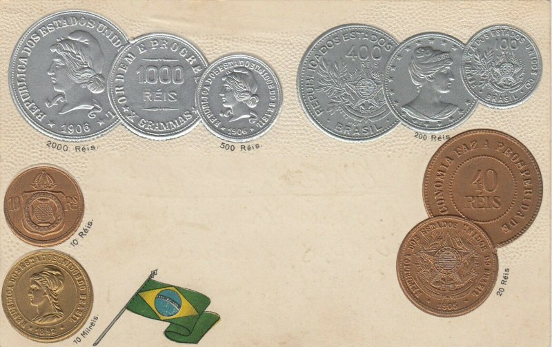 Coins of BRAZIL , 00-10s