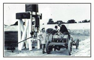 Nostalgia Postcard 1907 Brooklands Race Meeting Repro Card NS24