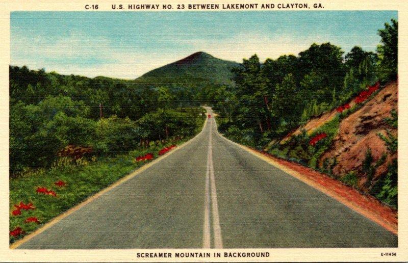 Georgia Clayton/Lakemont U S Highway No 23
