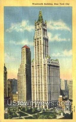 Woolworth Bldg in New York City, New York