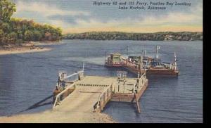Arkansas Lake Norfork Highway 62 & 101 Ferry Panther Bay Landing Curteich