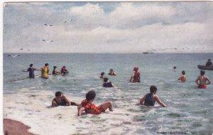 Mixed Bathing , 00-10s ; TUCK 6457