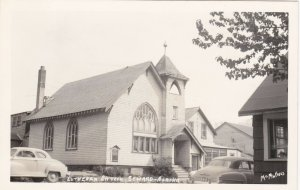 Alaska Seward Lutheran Church Real Photo sk4527