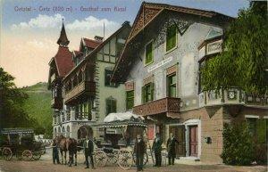 austria, OETZ, Oetztal, Gasthof zum Kassl (1910s) Postcard