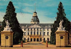 Karlsruhe Schloss Castle Statues Chateau