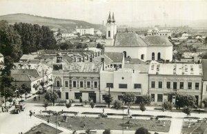 Romania Gherla piata libertatii Postcard