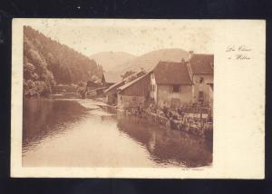 LA CHUR A WILLER GERMANY GERMAN ANTIQUE VINTAGE POSTCARD