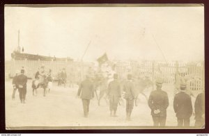 dc1162 - ITALY MILITARY 1911-12 Italo-Turkish War. Soldiers. Real Photo Postcard