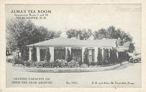 NH, Manchester, New Hampshire, Alma  Tea Room, E.R. and Alma M. Truesdale