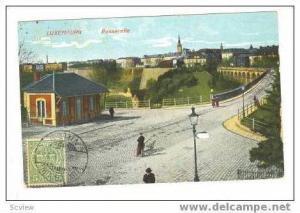 Luxembourg  Passerelle, PU -1912