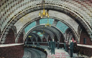 USA City Hall Subway Station New York 04.21