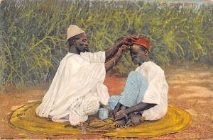 Nigeria Hausa Barber, Barbier