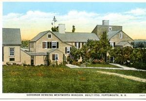 NH - Portsmouth, Gov. Benning Wentworth Mansion