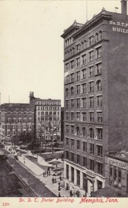 MEMPHIS , Tennessee, 1900-10s ; Dr Porter Building