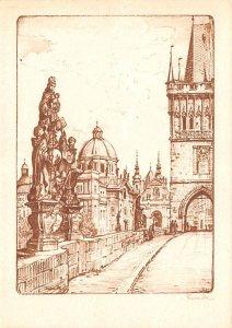 V Kubasta Praga Czechoslovakia, Ceskoslovenske, Ceske Obce Sokolske Unused
