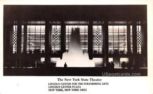 The New York State Theater New York City NY Unused